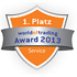 World of Trading Award - Kategorie Service  2013