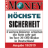 Focus Money Award 2019 - höchste Sicherheit