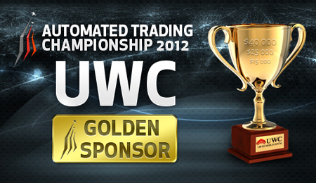 UWCFX Automated Trading Championship