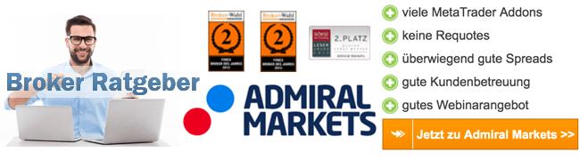 Admiral Markets Spread