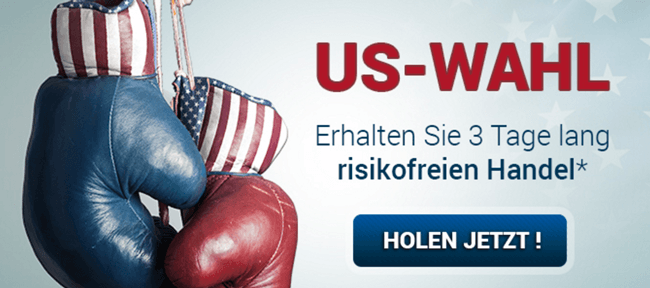 Bonus zur US Wahl bei anyoption