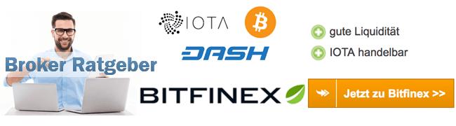 Bitfinex Einzahlung