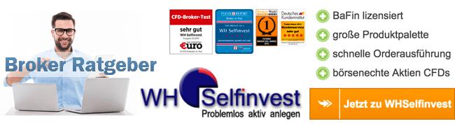 Wh Selfinvest Kosten
